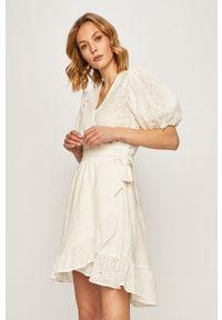 Biała sukienka Scotch & Soda mini, casualowa, na co dzień