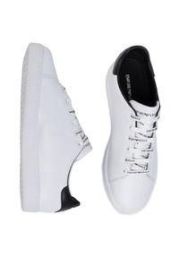 Białe buty sportowe Emporio Armani #7