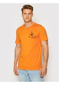 Only & Sons T-Shirt Turner 22019658 Pomarańczowy Slim Fit. Kolor: pomarańczowy