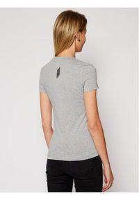 Guess T-Shirt Mini Triangle W1RI04 J1311 Szary Slim Fit. Kolor: szary