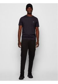 BOSS - Boss T-Shirt Tales 50389364 Czarny Regular Fit. Kolor: czarny