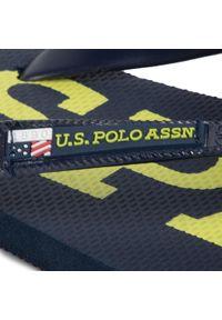 Niebieskie japonki U.S. Polo Assn