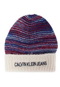 Niebieska czapka zimowa Calvin Klein Jeans