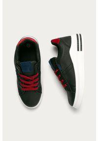 Czarne buty sportowe ANSWEAR z cholewką, z okrągłym noskiem