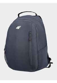 4f - Plecak miejski. Kolor: niebieski. Materiał: materiał