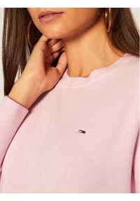 Różowy sweter Tommy Jeans