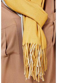 Żółty szalik MOODO