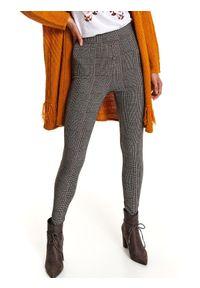 Czarne legginsy TOP SECRET casualowe, na jesień