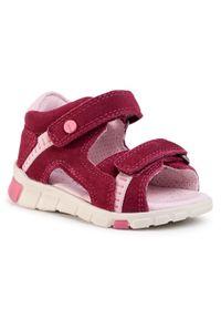Czerwone sandały ecco