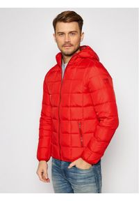 Czerwona kurtka puchowa Wrangler