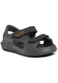 Szare sandały Crocs