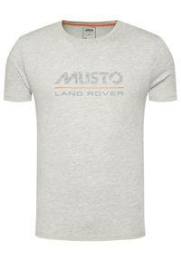 Musto T-Shirt Lr Logo 84008 Szary Regular Fit. Kolor: szary #4
