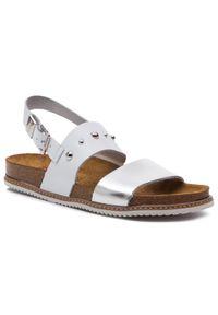 Białe sandały Nik