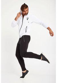 Karl Lagerfeld - BLUZA KARL LAGERFELD. Typ kołnierza: kaptur. Materiał: guma. Wzór: nadruk