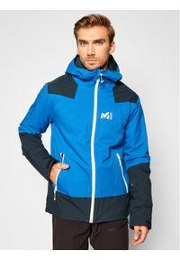 Millet Kurtka narciarska Roldal MIV8935 Granatowy Regular Fit. Kolor: niebieski. Sport: narciarstwo