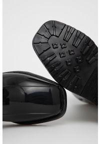 melissa - Melissa - Botki. Kolor: czarny. Materiał: materiał, guma. Wzór: gładki