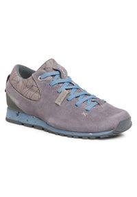 Szare buty trekkingowe Aku trekkingowe, z cholewką