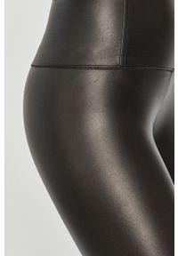 Czarne legginsy AllSaints z podwyższonym stanem
