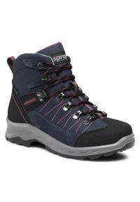 Niebieskie buty trekkingowe Sprandi