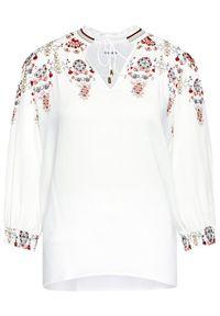 Desigual Bluza Indira 21SWBW49 Biały Regular Fit. Kolor: biały