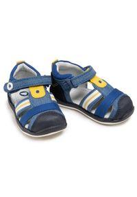 Mayoral - Sandały MAYORAL - 41.306 Jeans 41. Kolor: niebieski. Materiał: materiał. Sezon: lato. Styl: klasyczny #4