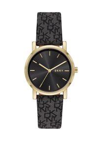 Czarny zegarek DKNY