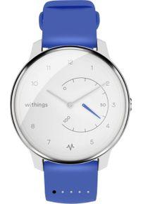 Niebieski zegarek WITHINGS