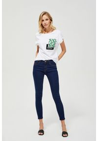 Niebieskie jeansy MOODO
