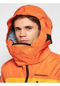 Peak Performance Kurtka outdoor Vertical Pro Ski G68287005 Pomarańczowy Regular Fit. Kolor: pomarańczowy. Sport: outdoor