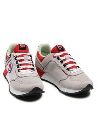 Colmar - Sneakersy COLMAR - Travis Sport Colors 038 Lt Gray/Red. Okazja: na co dzień. Kolor: szary. Materiał: skóra, materiał, zamsz. Szerokość cholewki: normalna. Styl: sportowy #3