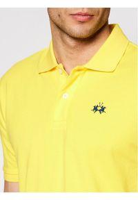 Żółta koszulka polo La Martina polo
