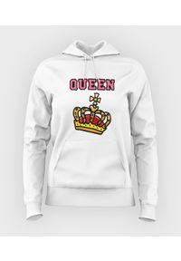 MegaKoszulki - Bluza damska z kapturem Queen. Typ kołnierza: kaptur