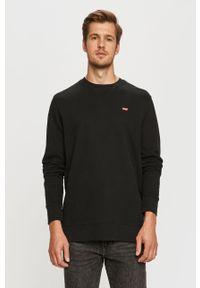 Czarna bluza nierozpinana Levi's® na spotkanie biznesowe, casualowa, bez kaptura