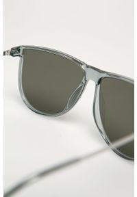 Szare okulary przeciwsłoneczne Uvex owalne