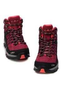 Trekkingi CMP - Rigel Mid Wmn Trekking Shoe Wp 3Q12946 Magenta/Antracite 06HF. Kolor: różowy. Materiał: skóra, zamsz. Szerokość cholewki: normalna