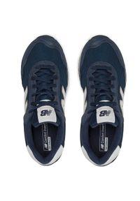 New Balance Sneakersy WL515RB3 Granatowy. Kolor: niebieski