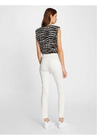 Morgan Jeansy 211-PWHITE Biały Slim Fit. Kolor: biały #6