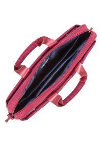 Czerwona torba na laptopa RIVACASE casualowa