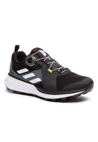 Adidas - Buty adidas - Terrex Two Boa FZ2830 Cblack/Crywht/Syello. Okazja: na co dzień. Kolor: czarny. Materiał: materiał. Szerokość cholewki: normalna. Model: Adidas Terrex. Sport: fitness
