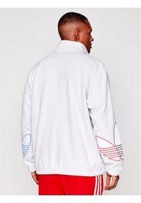 Biały polar Adidas