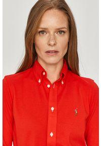 Czerwona koszula Polo Ralph Lauren długa, polo