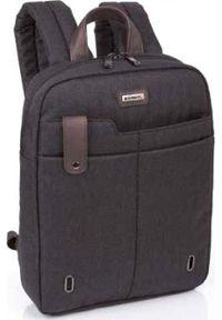 Brązowy plecak na laptopa GABOL