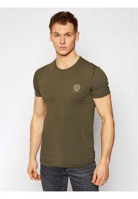 Zielony t-shirt VERSACE