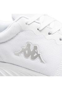 Kappa - Sneakersy KAPPA - Ces 242685 White 1010. Okazja: na co dzień. Kolor: biały. Materiał: materiał. Szerokość cholewki: normalna. Sezon: lato. Styl: casual #8
