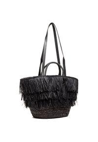 Czarna torebka Jenny Fairy z aplikacjami, zdobiona