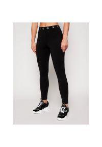 Czarne legginsy sportowe Calvin Klein Jeans