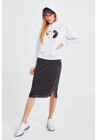Bluza Armani Exchange z kapturem, z nadrukiem