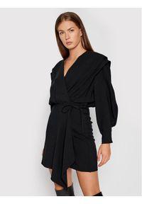 IRO Sukienka codzienna Rixton AP137 Czarny Regular Fit. Okazja: na co dzień. Kolor: czarny. Typ sukienki: proste. Styl: casual