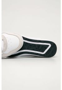 Białe sneakersy TOMMY HILFIGER na sznurówki, z okrągłym noskiem
