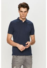 Niebieska koszulka polo s.Oliver polo, na co dzień